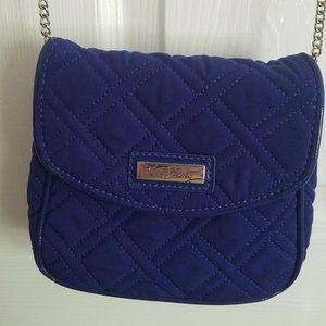 Vera Bradley Blue Quilted Crossbody Bag